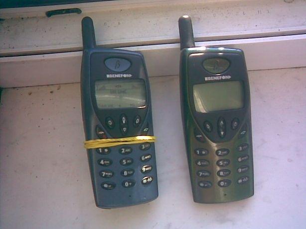 benefon twin + на 2 карты раритет мобильной связи