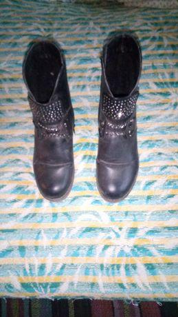 Полу ботиночки зимние для девочки