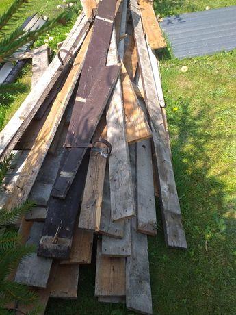 Deski używane szalunkowe calowe.ok 1.5m3.