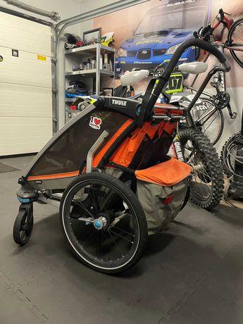 THULE CHARIOT CROSS 2 przyczepka rowerowa dla dwójki dzieci
