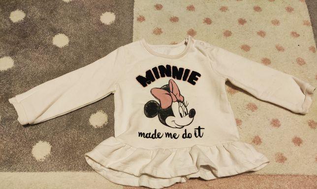 Bluza Minnie Miki rozmiar 80/86 George