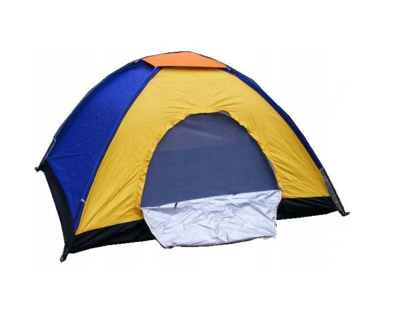 Namiot trzyosobowy typu iglo kolorowy