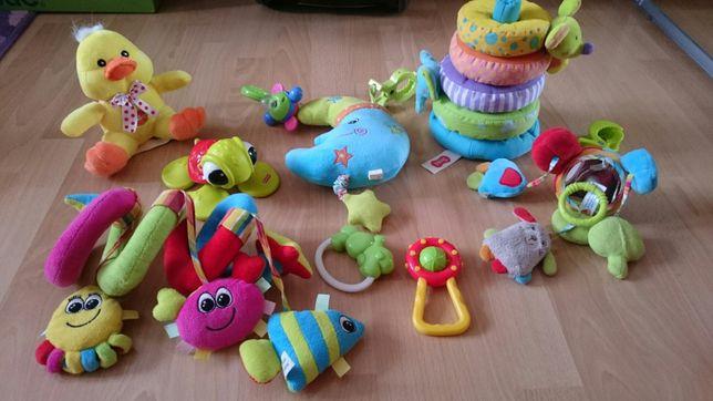 Super zabawki dla najmłodszych, karuzela, pozytywki, grzechotki...