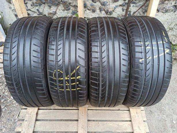 Dunlop 235/55r17 4 шт комплект лето резина шины б/у склад
