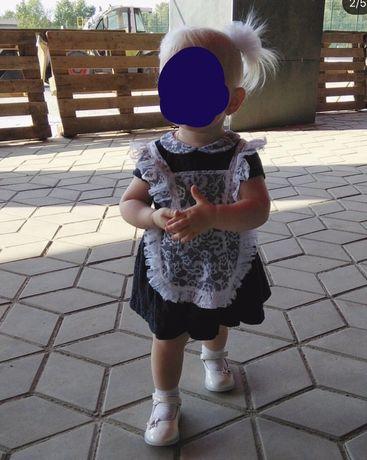 Школьная форма ссср.для малышки на год