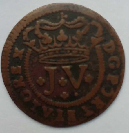 V reis D. João V 1714 ( PORTET)