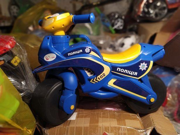 Doloni Мотоцикл толокар Полиция, звуковой