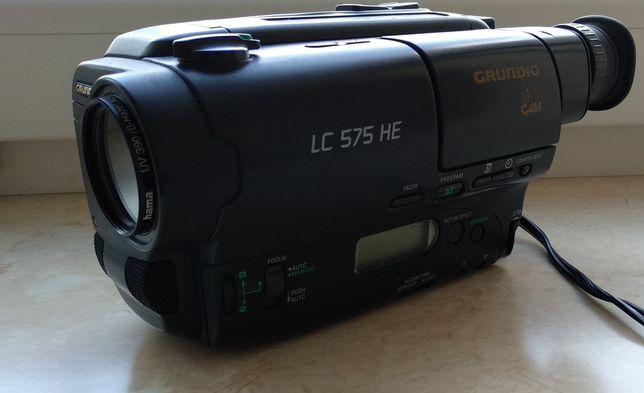 Grundig LC575HE винтажная видеокамера
