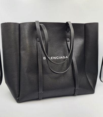 Кожаная сумка шоппер тоут BALENCIAGA EVERYDAY TOTE . Сумка Баленсиага