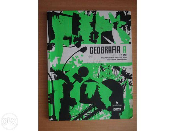 Livro Geografia A 11ºano + Caderno de Actividades