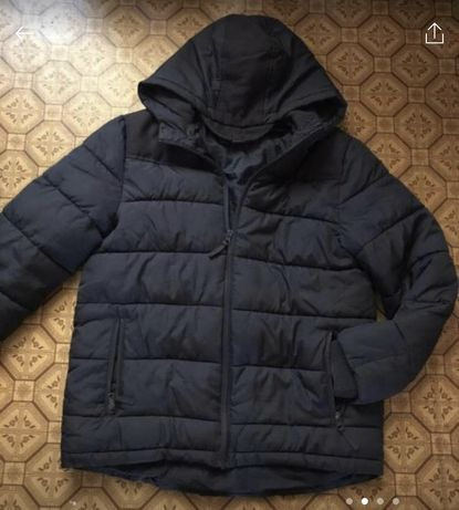 Куртка пуховик на мальчика 12-15 лет