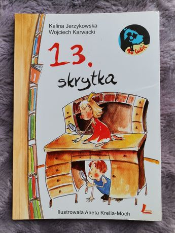 """Książka dla dzieci """"13. skrytka"""""""