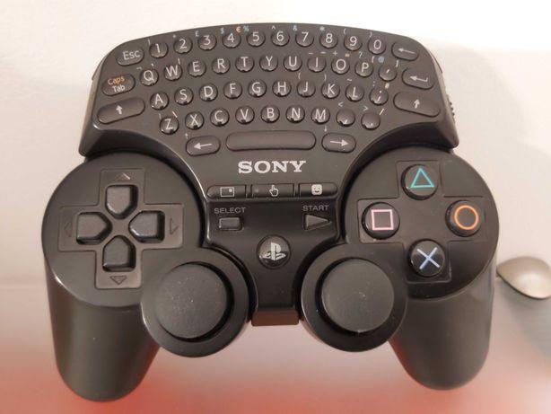 Pad Bezprzewodowy SONY Dualshock3 Sixaxis ORYGINALNY PS3 +Chatpad SONY