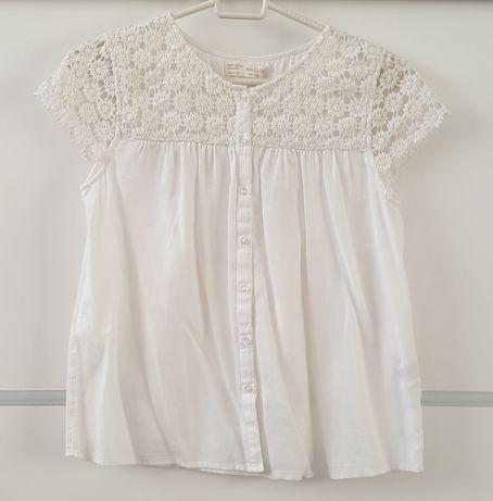 Bluzka biała, Zara, 152