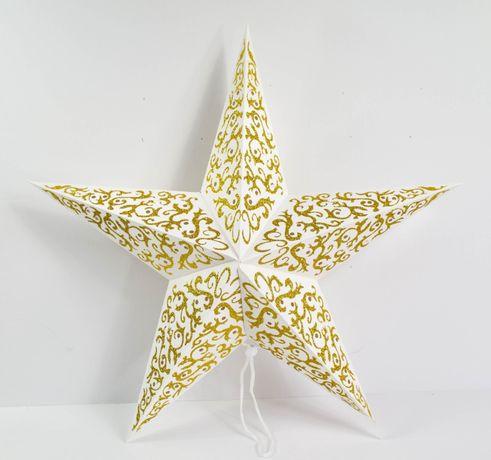 Dekoracja świąteczna Gwiazda duża różne rodzaje