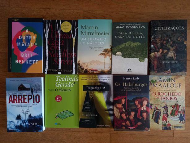 Lote de 30 livros
