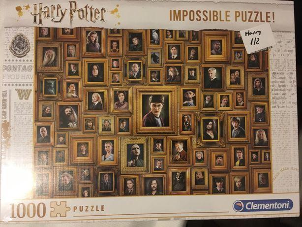 Puzzle Harry Potter impossible 1000 el.- Clementoni