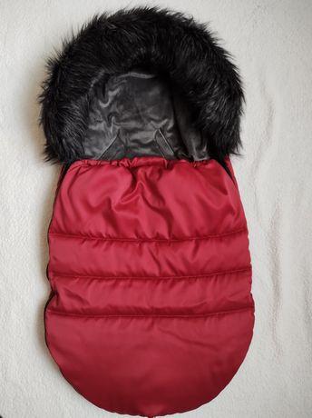 Śpiworek zimowy niemowlęcy