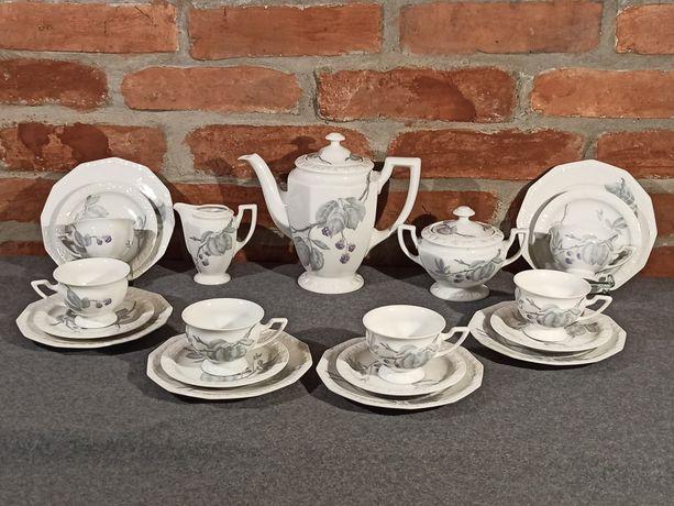 Porcelana Rosenthal Maria Jeżyna Serwis Kawowy 6 os. Idealny stan
