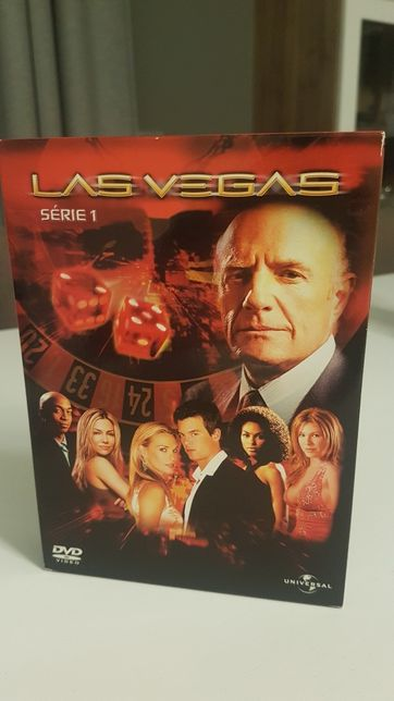 6 DvD's da Série 1 Las Vegas