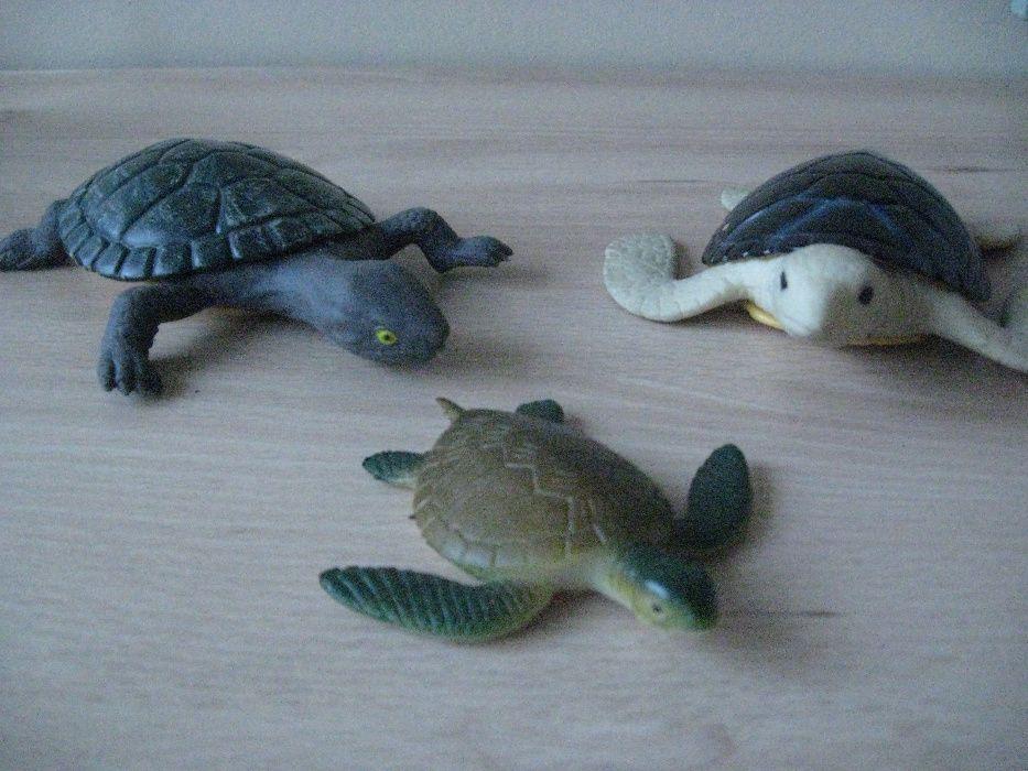 Figurki ŻÓŁWIE 3 szt. Racibórz - image 1