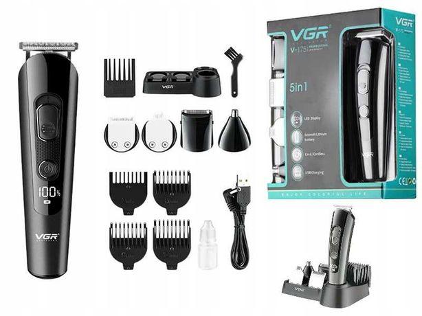 НОВЫЕ! VGR V-175 10 насадок Триммер машинка для стрижки, аккумулятор