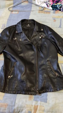 Продам куртку пиджак кожаный