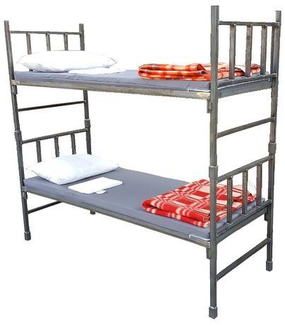 ŁÓŻKO KOSZAROWE nowe łóżka wojskowe materace prześcieradła dowóz