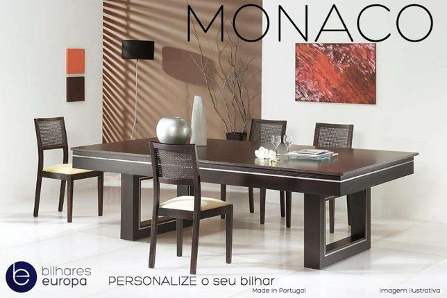 BilharesEuropa Fabricante md Monaco oferta tampo jantar entregas país
