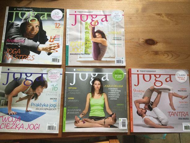 Joga Magazyn wyjogowanych 5 numerów archiwalnych