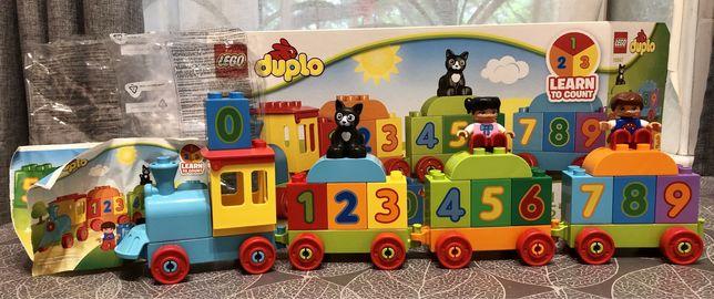 Lego duplo Поезд с цифрами 10847