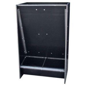 Skrzynkowy automat paszowy warchlakowy, dwustanowiskowy AP2W na sucho