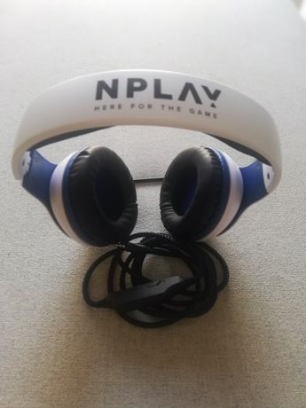 Auscultador NPLAY Contact 3.0 (PC – Microfone)