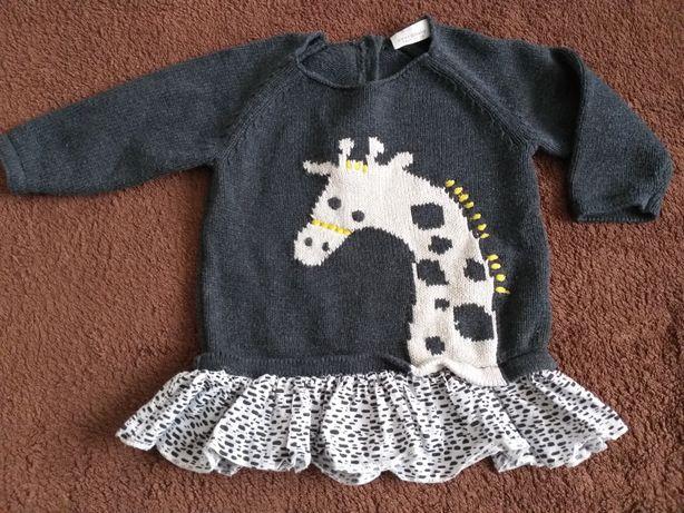 Śliczny sweterek -tuniczka Next