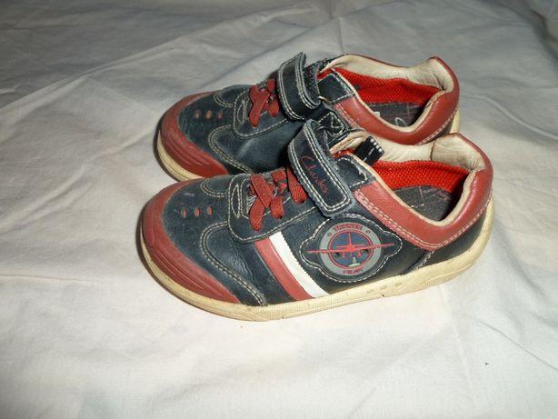 Кожаные кроссовки, ботинки Clarks , р 27 (UK 9), стелька 16,8 см Мигаю