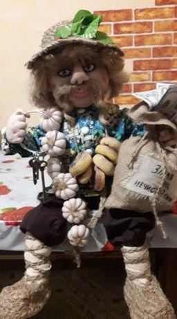 """Кукла-оберег. Авторская интеръерная кукла """"Домовичок"""" из синтапона"""