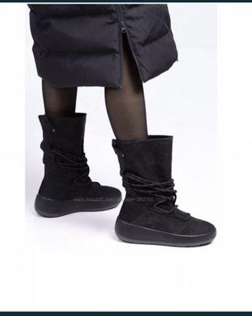Жіночі термо чоботи,сапоги ECCO Primaloft до -25!!Зима!!37,38