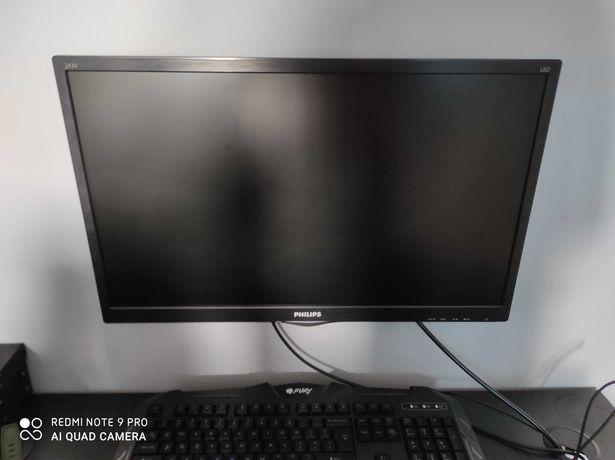 Monitor Philips 23,6'' 243V5LHSB/00