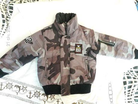 Тёплая куртка Mash JR 98 см курточка одежда одяг