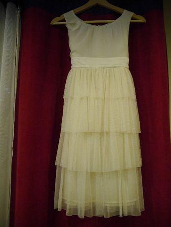 sukienka 140 - 146 cm bal wesele komunia