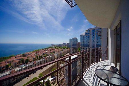 Сдам Новый Апартамент с Панорамой моря в Аркадии ( 2 спальни терраса)