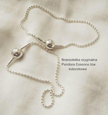 Bransoletka 19,5cm Pandora Essence kuleczki Nowa