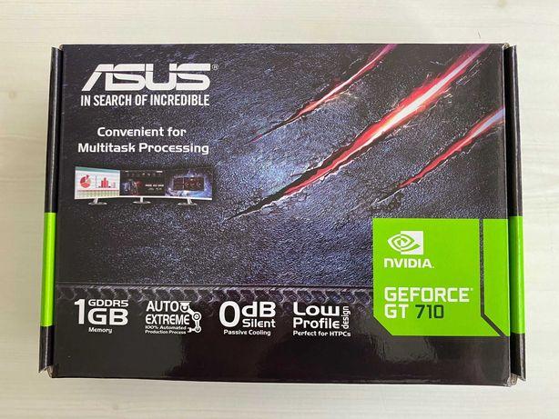 Placa Gráfica ASUS GeForce GT710 Silent 1GB DDR5 - Nova