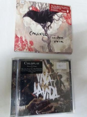 Música Pop/Rock - Calexico e Coldplay