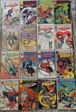 Komiksy spiderman tm-semic 97zeszytów