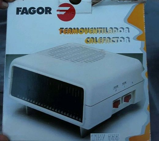Aquecedor Termoventilador Fagor TRV 555 [NOVO]