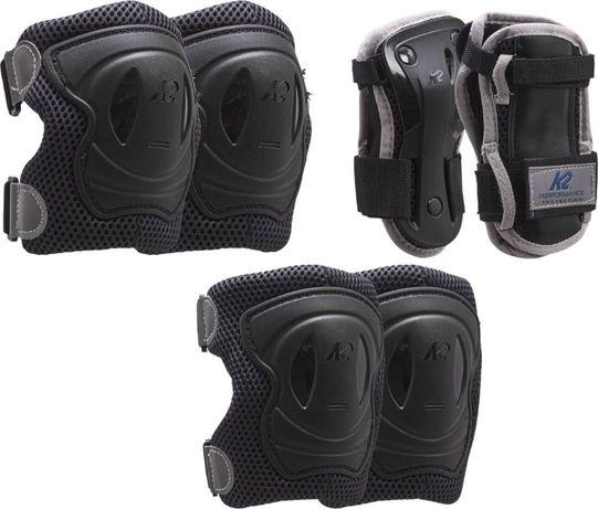 OUTLET - zestaw ochraniaczy nakolanniki nałokietniki na rolki rower