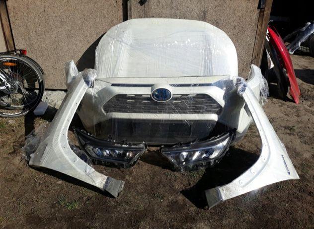 Бампер крило фара капот на Toyota RAV4 19-20 года