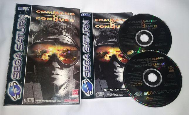 Command & Conquer (Sega Saturn) 2cd, PAL, komplet