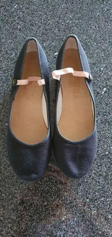 Sapatos de ballet para caráter